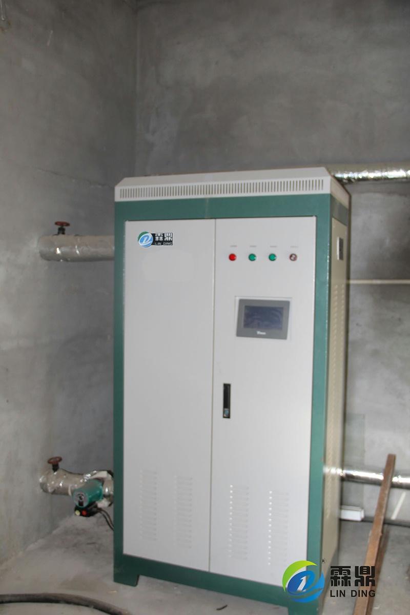 黑龙江齐齐哈尔卫生院霖鼎电磁采暖炉案例图片