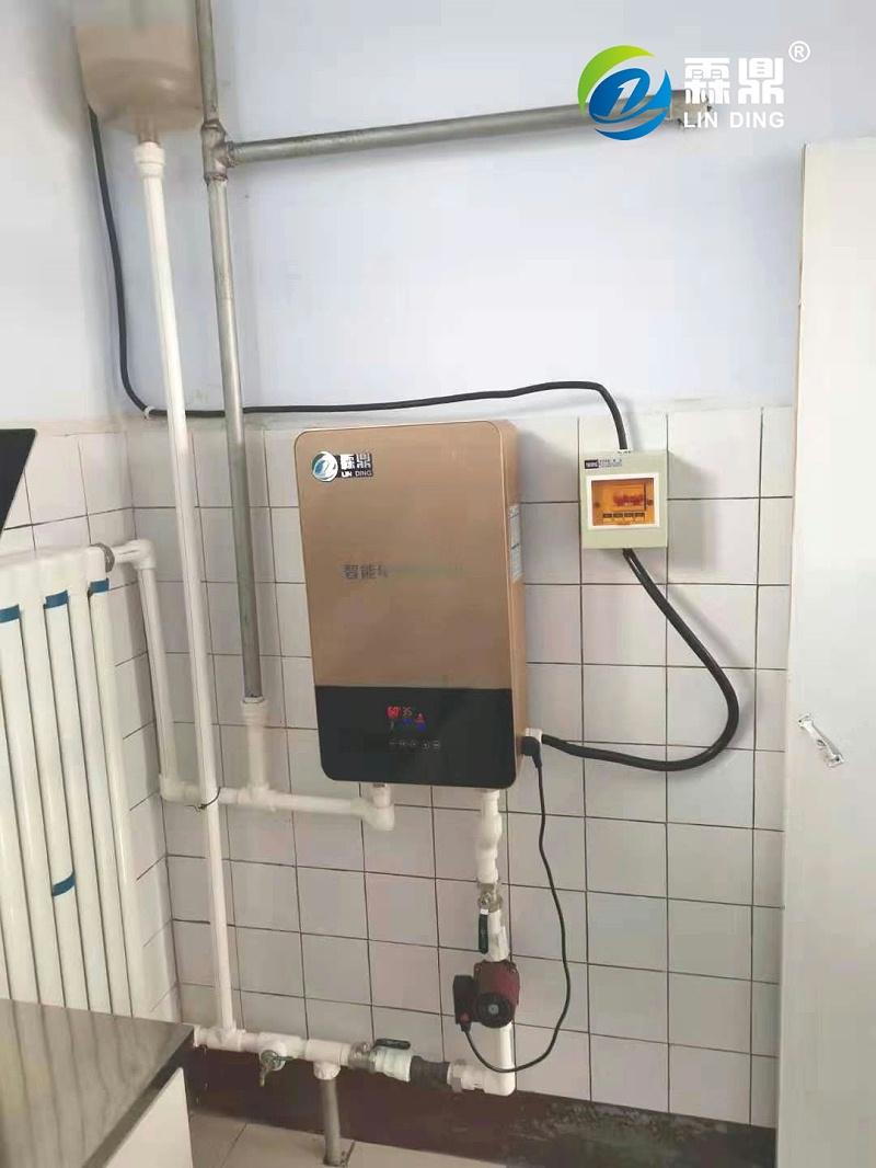 霖鼎电磁采暖炉 安装案例