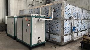 张家口市蔚县定方机械厂电磁采暖炉安装工程