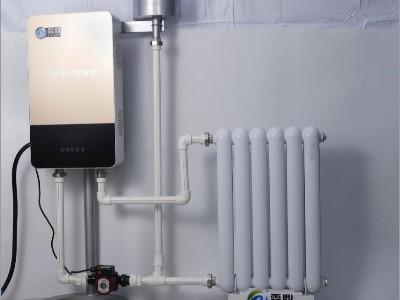 电磁壁挂采暖炉是怎样加热和采暖的