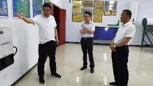县领导深入蔚县电锅炉厂家进行调研